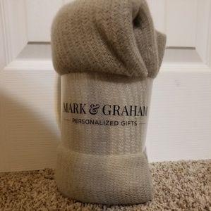 Mark and Graham throw blanket